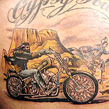 Easy Rider tattoo