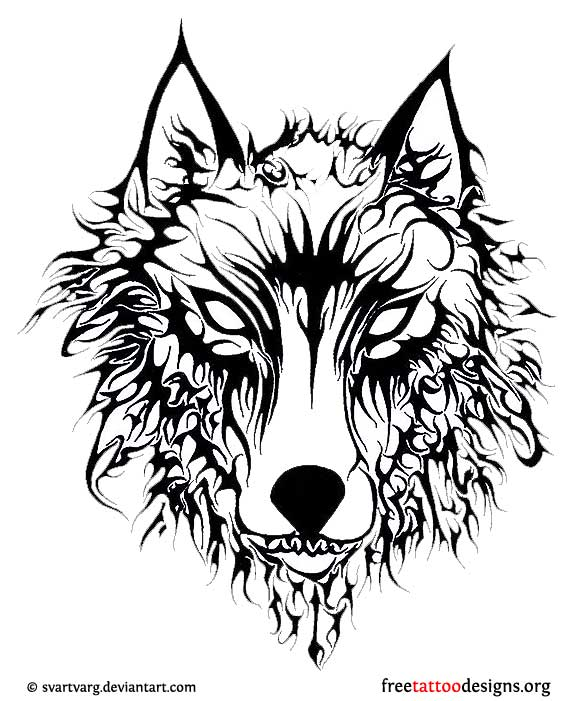 Evil Moon Drawings Evil Wolf