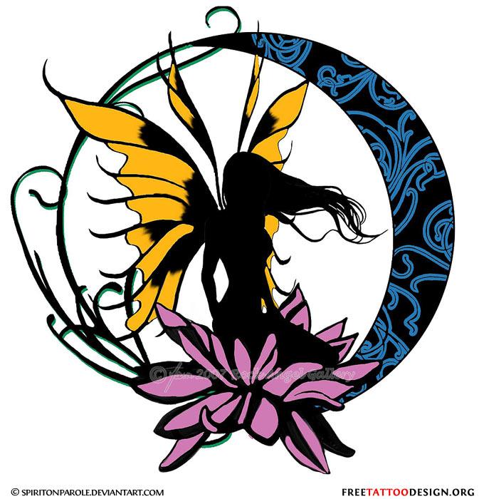 fairy tattoo gallery. Black Bedroom Furniture Sets. Home Design Ideas