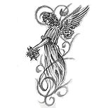 Feminine angel design