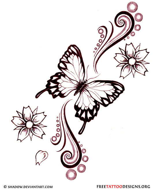 butterfly patterns tattoo tribal Tribal Butterfly Designs Butterfly Tattoo 60  Feminine And  Tattoos