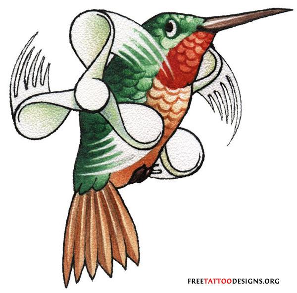 Flying Birds Tattoo