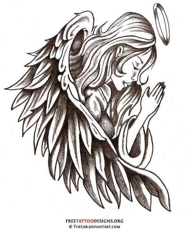 Guardian Angel Tattoo Designs