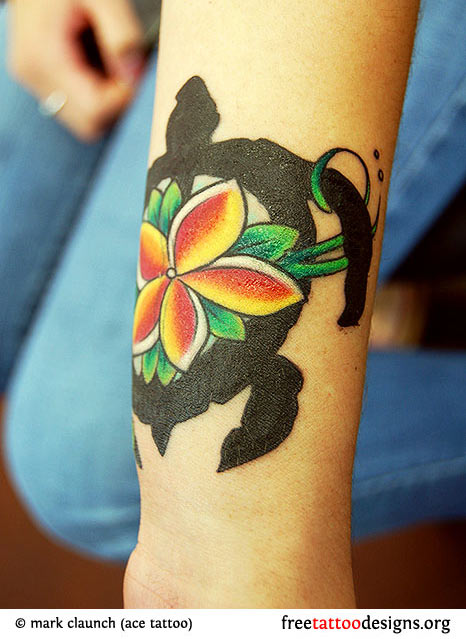 2b1da1c62 Turtle Tattoos | Polynesian and Hawaiian Tribal Turtle Designs