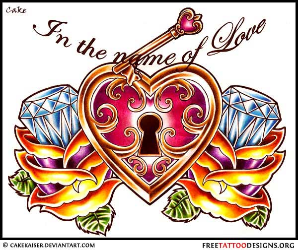 55 heart tattoos love and sacred heart tattoo designs. Black Bedroom Furniture Sets. Home Design Ideas