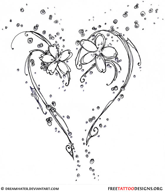 Small Heart Tattoo Designs