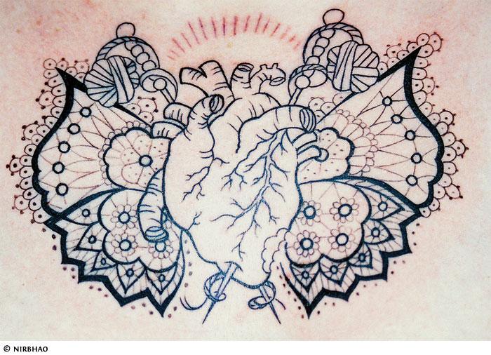 heart tattoo gallery rose sacred broken celtic tribal heart tattoos. Black Bedroom Furniture Sets. Home Design Ideas