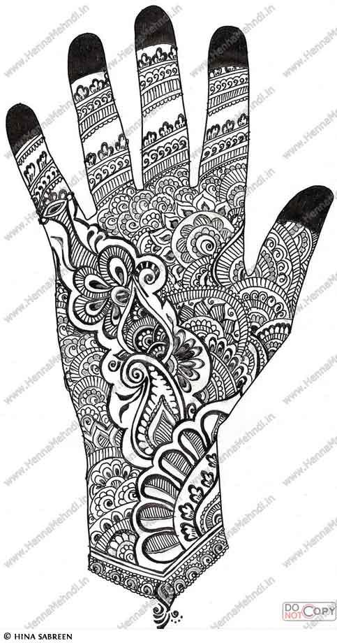 henna hand designs mehndi tattoo tattoos patterns mehandi freetattoodesigns