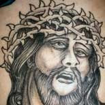 Horrible Jesus tattoo