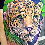 Jaguar tattoo