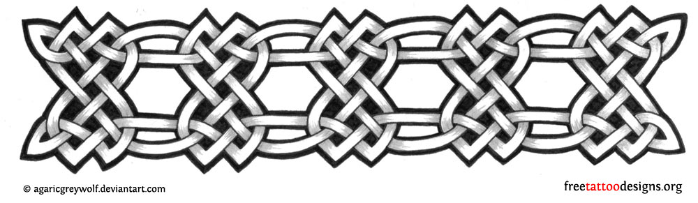Celtic Knot Armband Tattoos
