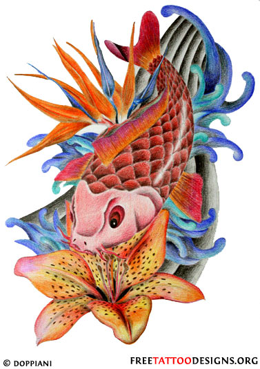 If you loved these koi, you'll also love our Phoenix Designs .