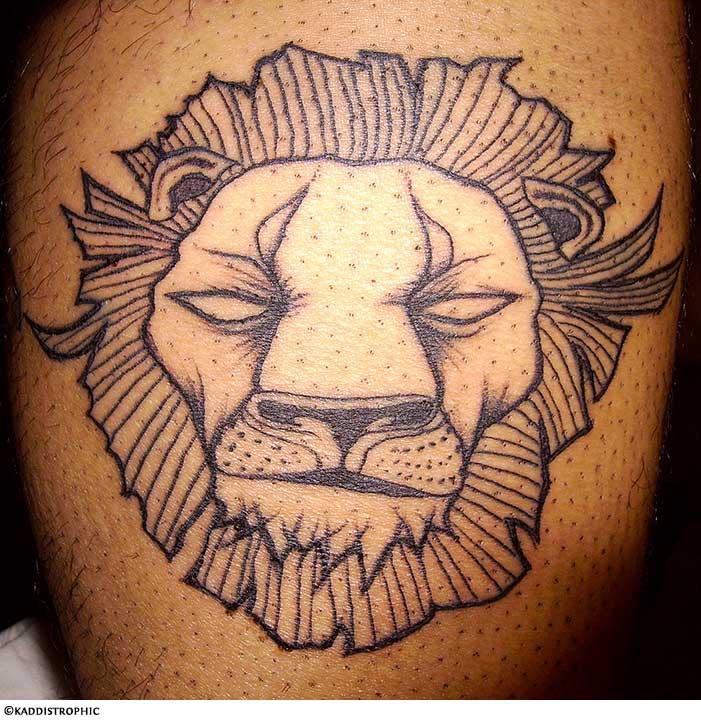 Ethiopian Flag Tattoo Lion Tattoo