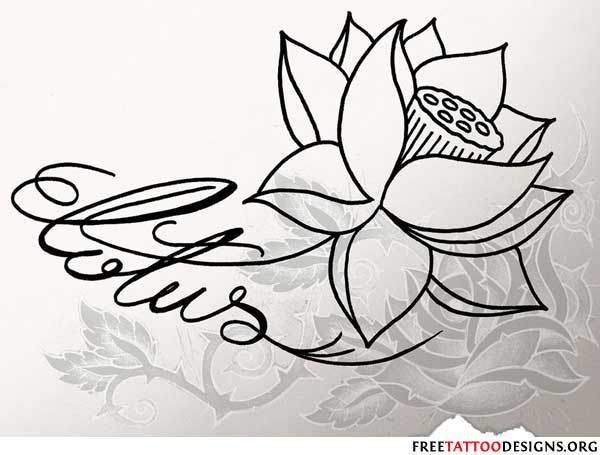 Lotus flower tattoos lotus flower tattoo design lotus tattoo design mightylinksfo Gallery