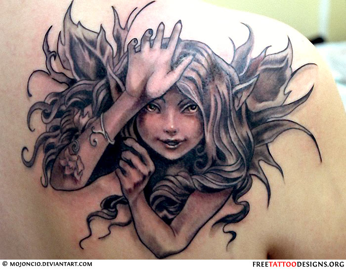 Fairy Tattoos Designs 2
