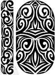 Maori Sleeve Tattoo and Armband