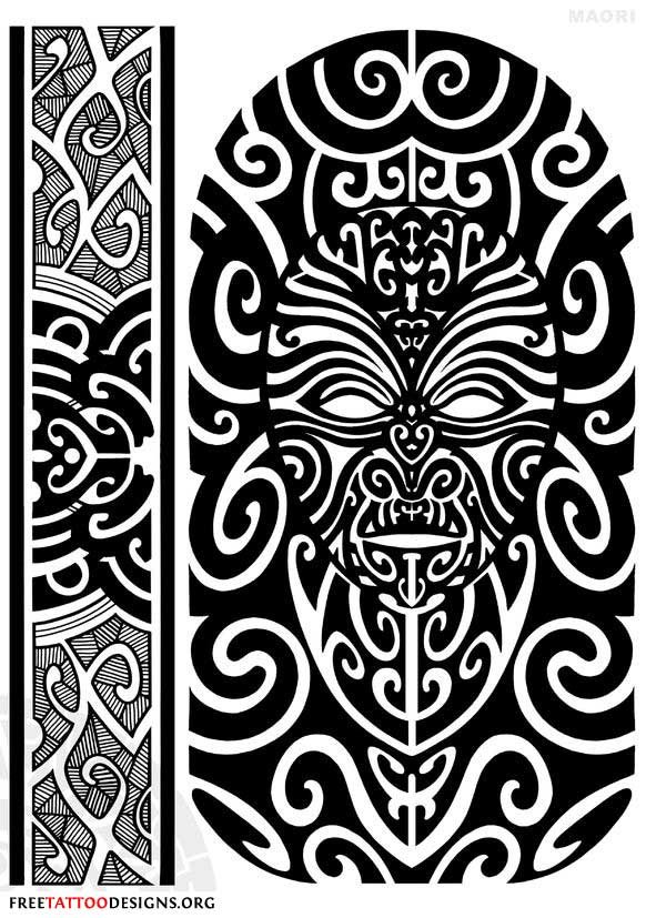 maori tattoo gallery. Traditional Maori Tattoos: Ta