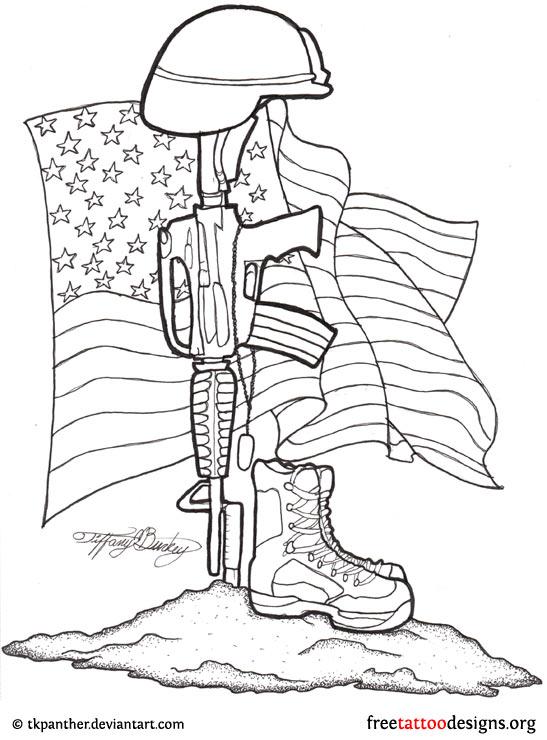 Military Memorial Drawings Military Memorial Tattoo