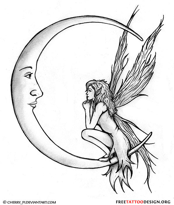 Tattoo Stencils Printable Moon: Free Tattoo Pictures