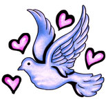 Peace dove tattoo design