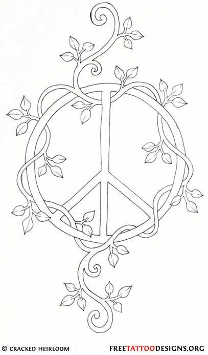 50 Peace Sign Tattoos