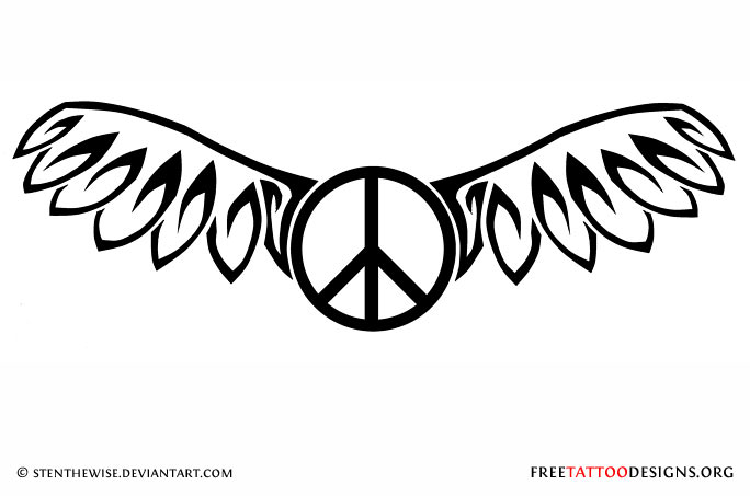 50 Peace Sign Tattoos