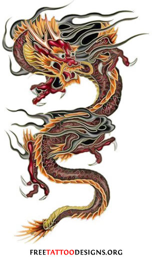 chinese dragon tattoos. Black Bedroom Furniture Sets. Home Design Ideas