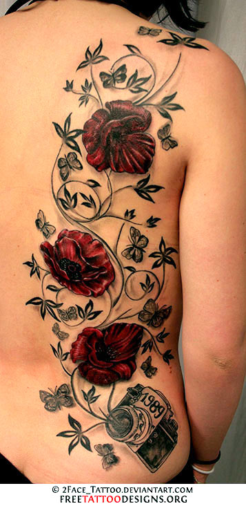 For most people, a rose tattoo symbolizes love. This leads many to the