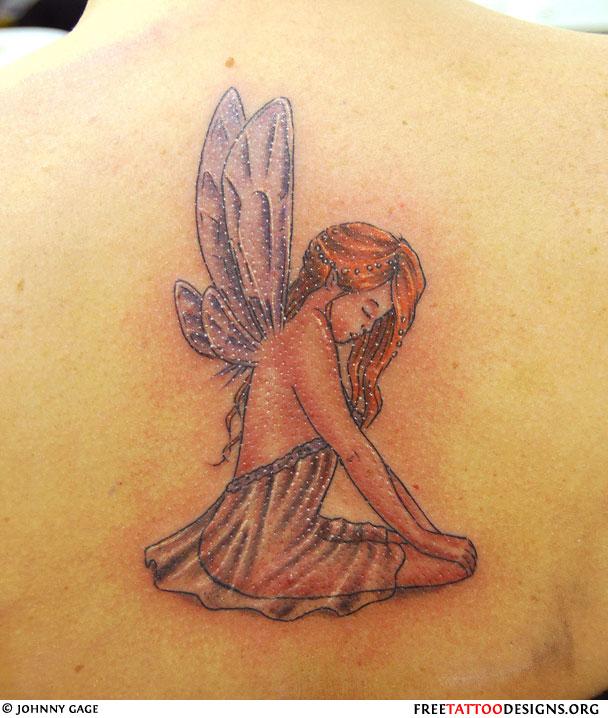 Cute fairy tattoo designs