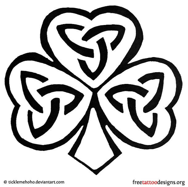 77 Irish Tattoos | Shamrock, Clover, Cross, Claddagh Tattoo Designs