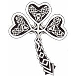 Shamrock tattoo design