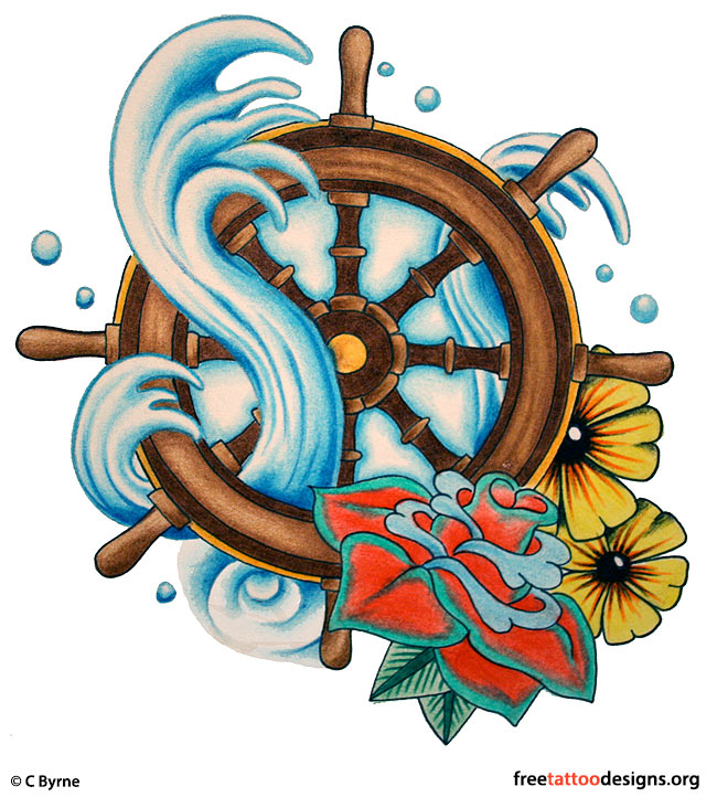 Traditional Old School Tattoos Gypsy Anchor Ship Pin Up And Sailor Jerry Tattoo Designs