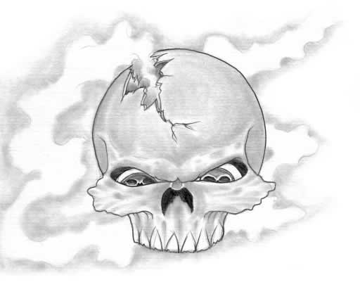 25 beautiful skull tattoos