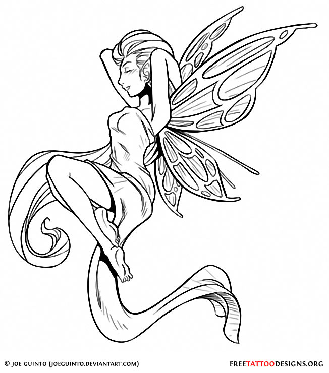 Evil Tinkerbell Drawings Pixie And Tinkerbell Tattoos