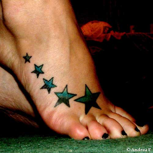 Heart Tattoo Designs on Foot Heart Tattoos on Foot Heart