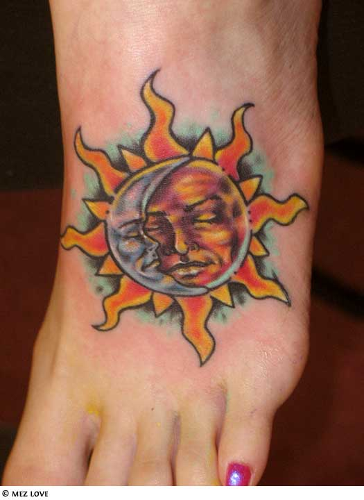 65 sun tattoos tribal sun tattoo designs for Sun tattoos pictures