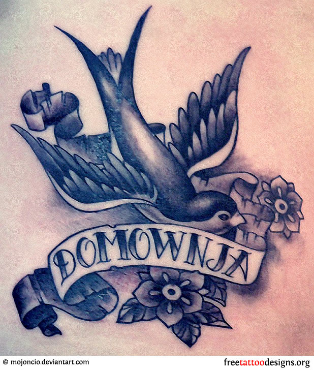 678a867bb7ae2 Meaning And Pictures Of Swallow Tattoo Designs