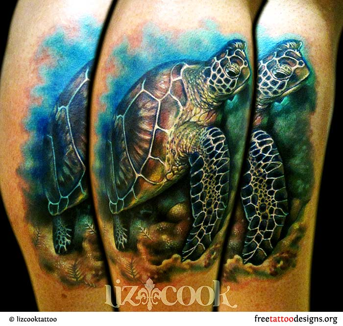 dedddb6e70331 Turtle Tattoos | Polynesian and Hawaiian Tribal Turtle Designs