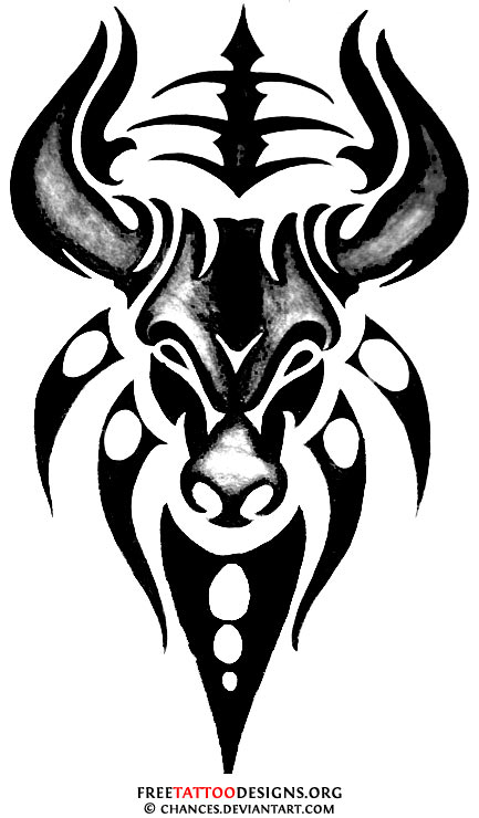 Bull Tattoo Art 50 Taurus Tattoos Free