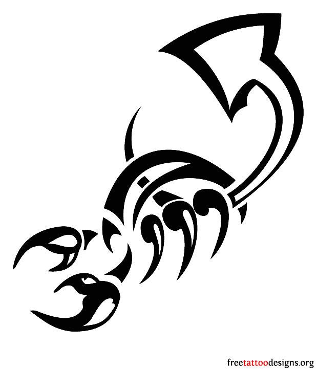 Tribal scorpion tattoos - photo#26