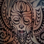 Tribal Shaman Tattoo