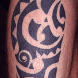 Tribal tattoo art