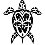 Turtle tattoo design