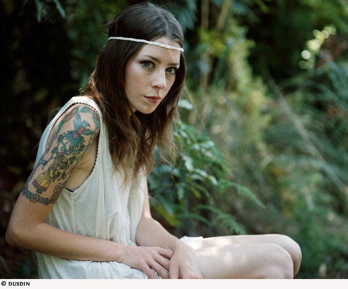 Upper Arm Tattoos for Women