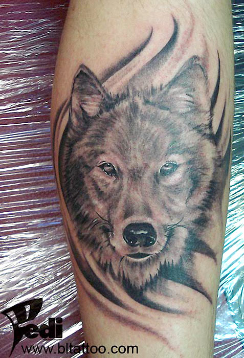 wolf tattoos. Black Bedroom Furniture Sets. Home Design Ideas